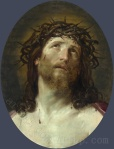 Full title: Head of Christ Crowned with Thorns Artist: After Guido Reni Date made: 1640-1749 Source: http://www.nationalgalleryimages.co.uk/ Contact: picture.library@nationalgallery.co.uk Copyright (C) The National Gallery, London