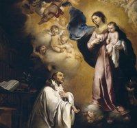 San Bernardo Abad_aparición de María
