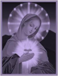 El Corazón Eucarístico de María