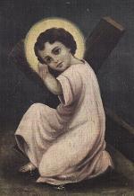 Niño Jesus y su cruz-Evelyn Khat de Akel