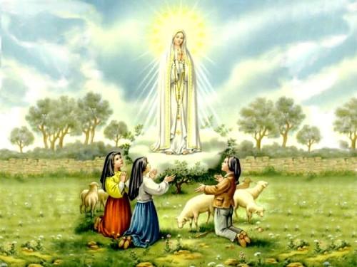 Virgen de Fátima_aparición-Pastorcitos
