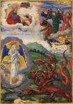 Apocalipsis_O dragao tenta inutilmente destruir a Igreja