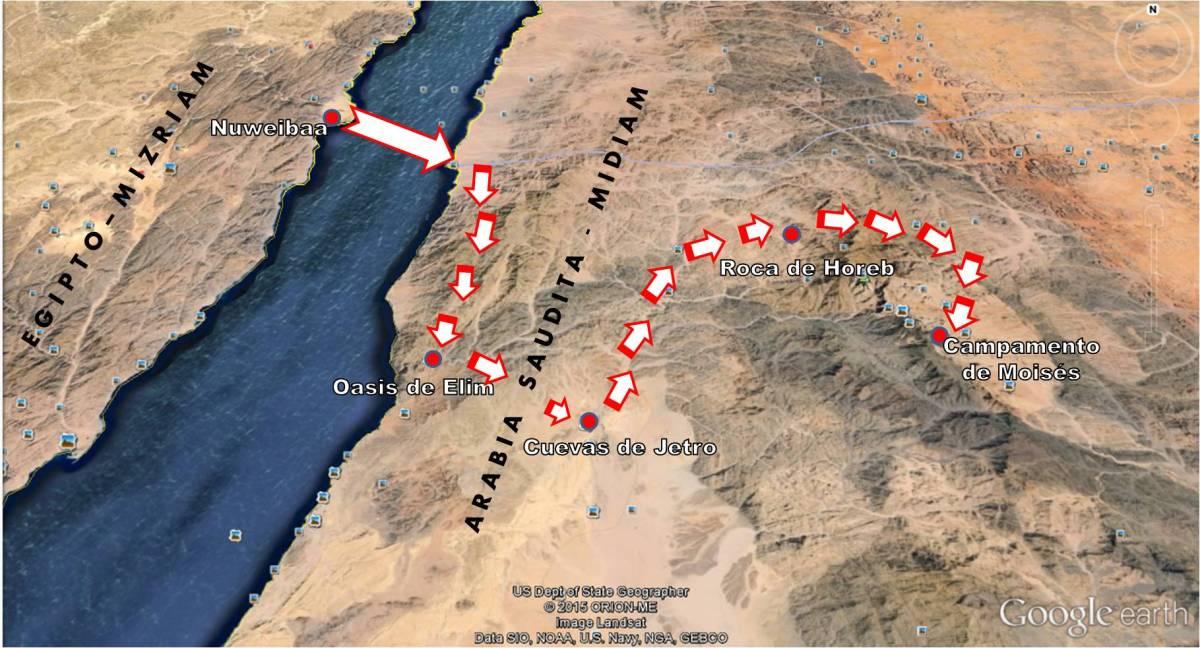 El Monte Sinaí – Descubrimientos arqueológicos de Ron Wyatt