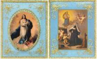 Escapulario Azul de la Inmaculada