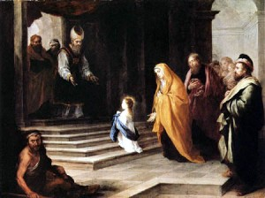 Presentación Virgen Mária en el Templo_tem