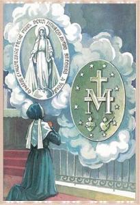 Santa Catalina Labouré_MedallaM