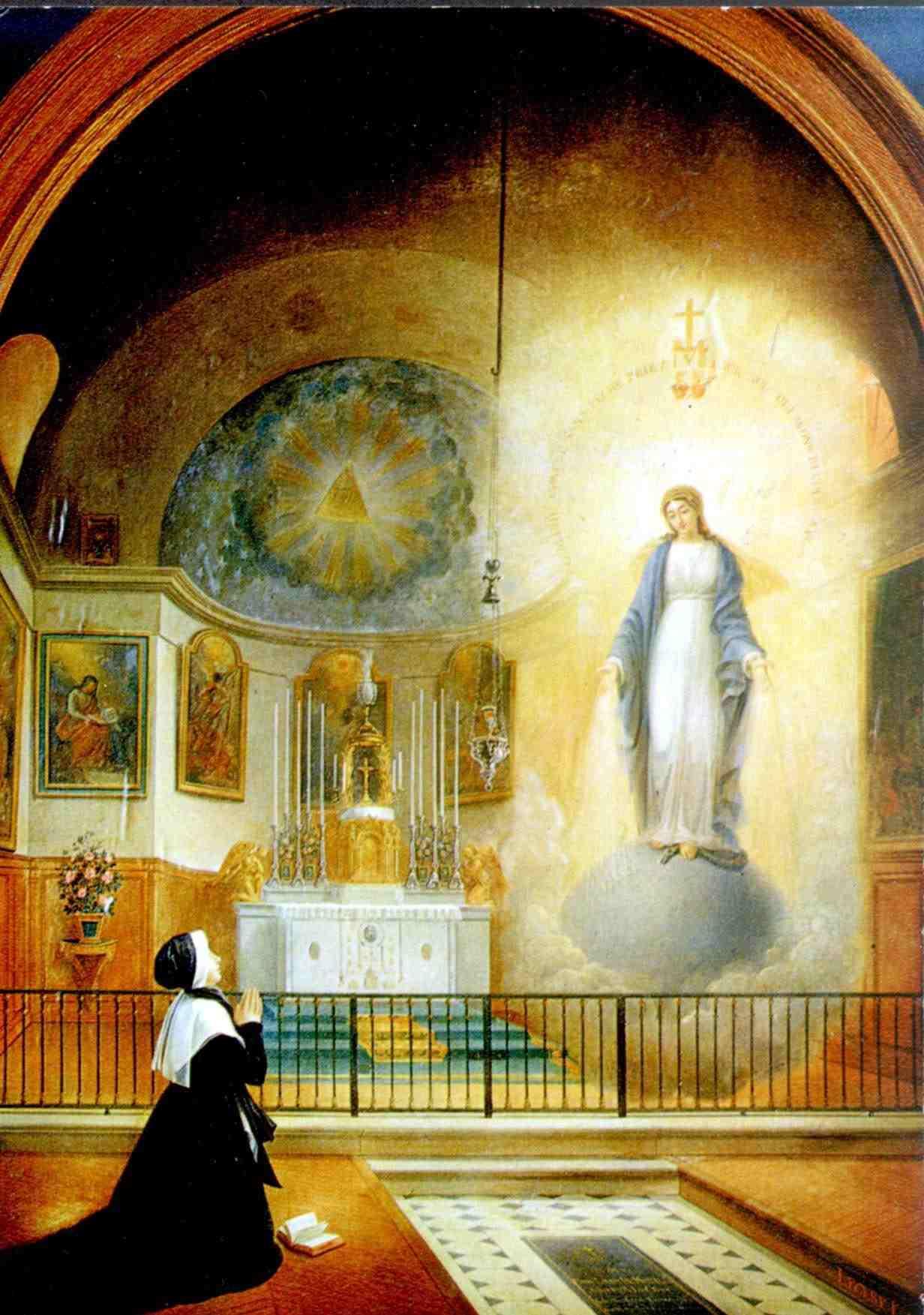 18 De Julio Y 27 De Noviembre Apariciones De La Virgen A