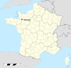 NS de Pontmain_mapa