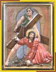 Jesús cae 1 vez