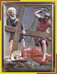 Jesús cae 3 vez