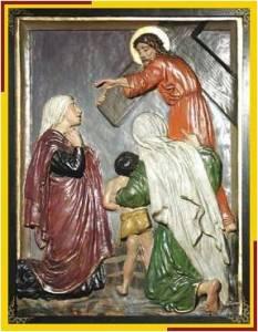 Jesús consuela a mujeres