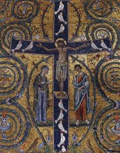 Jesús Crucificado_María y Juan