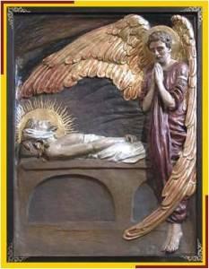 Jesús es sepultado