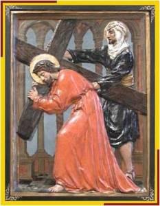 Jesús y el cireneo