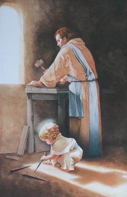 San José_niño carpintero