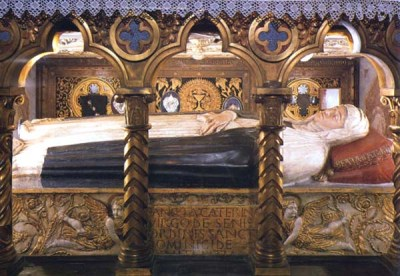 Santa catalina de siena_cuerpoincorrupto