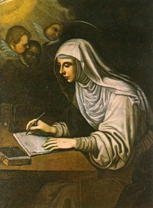 Santa Catalina de Siena_Passignano s-XVII