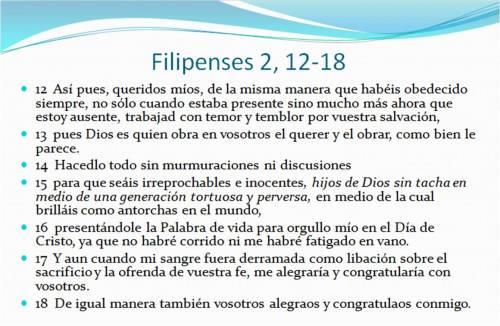 0 Filipenses 2,12-18