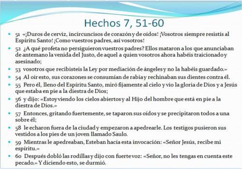 0 Hechos 7,51-60