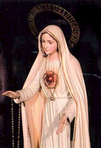 Virgen de Fátima_Corazón original