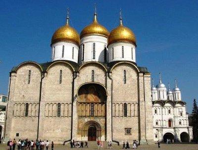 Catedral de la Dormicion_Moscu