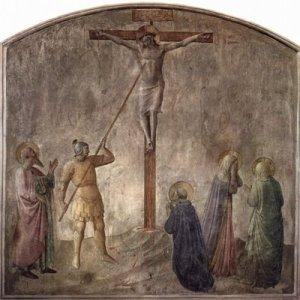 f crucifixión_7calvario-lalanzada-Fra_Angelico