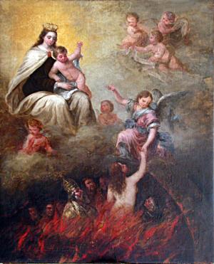 Virgen del Carmen_Purgatorio
