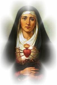 Virgen Dolorosa_Corazón doloroso de María1