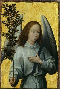 Arcángel Gabriel_con palma en la mano