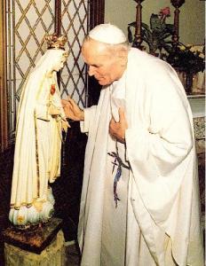 Papa Juan Pablo II_Virgen de Fátima