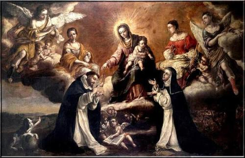 Santo Domingo de Guzmám_Virgen del Rosario7