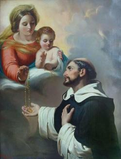 Santo Domingo de Guzmán_virgen rosario2