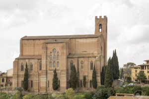 Church of St. Dominic. Siena. Italy